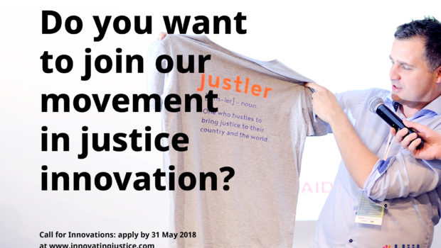 Hiil Justice accelerator - call for applications 2018